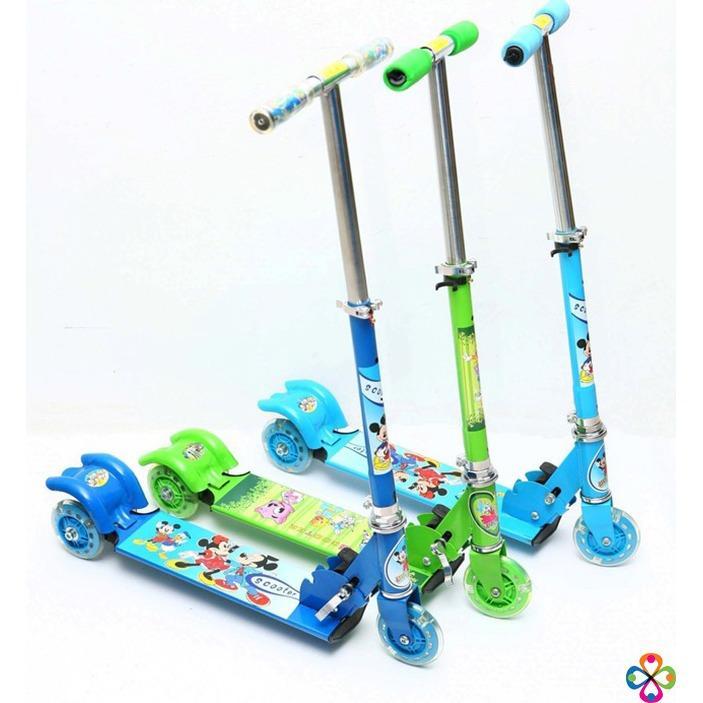 Xe trượt Scooter 3 bánh cho bé yêu năng động