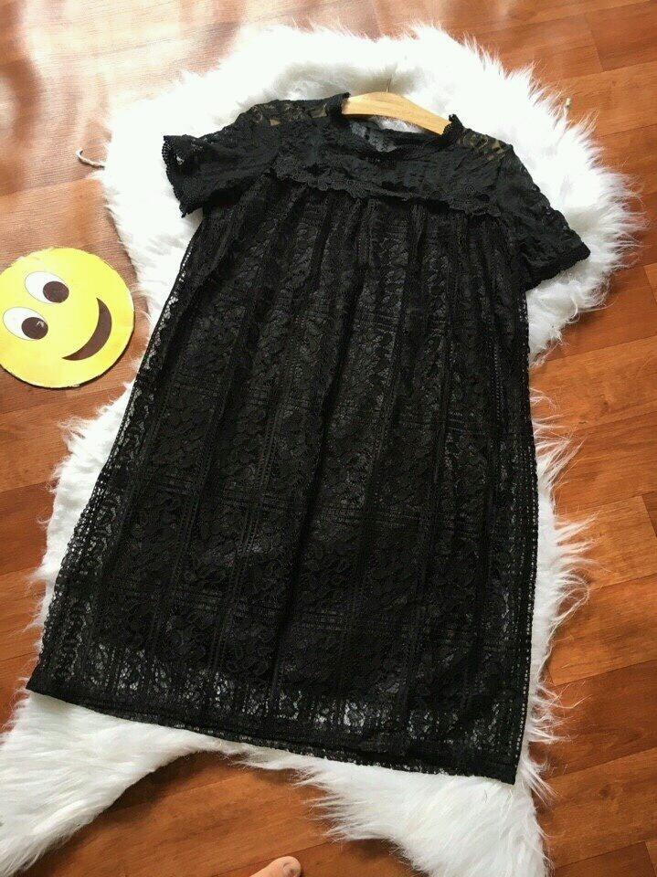 Đầm suông ren cao cấp D179