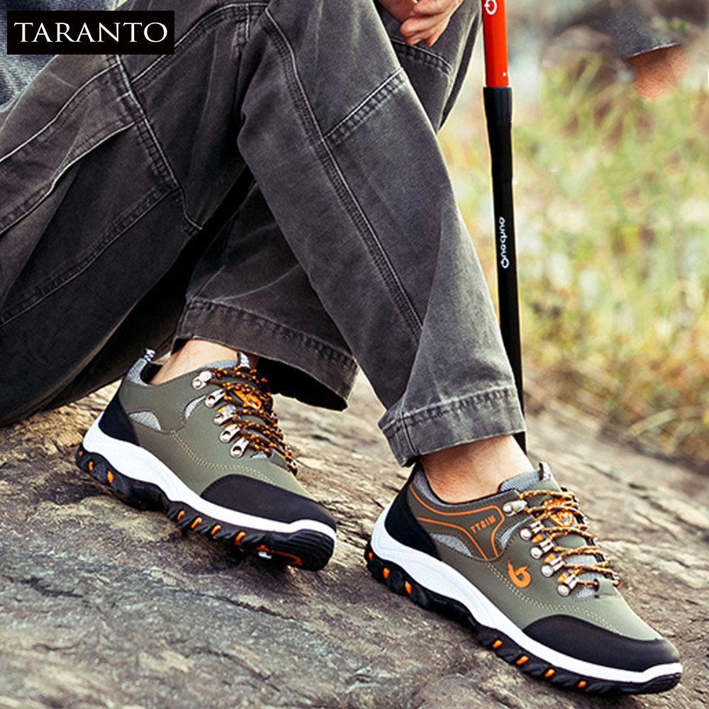 Giày thể thao nam TARANTO TRT-GTTN-02-DE  Màu đen