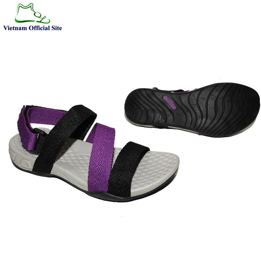 Giày sandal nữ 3 quai ngang hiệu Vento NV8524Pu