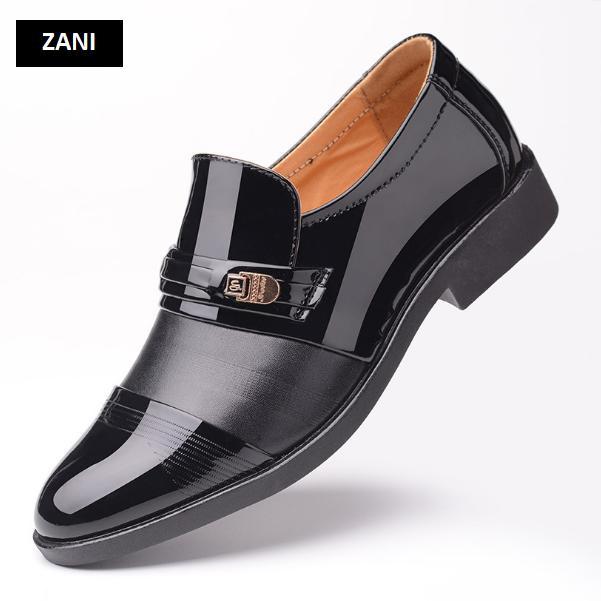 Giày tây nam cao cấp kiểu xỏ ZANI ZN56353