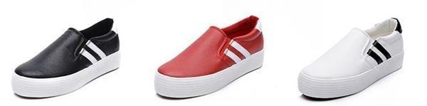 Giày lười tăng chiều cao nữ ZANI ZN3669