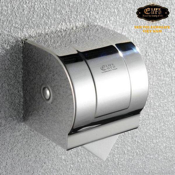 Hộp đựng giấy vệ sinh Inox SUS 304 Eurolife.jpg