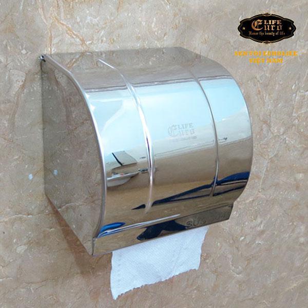 Hộp đựng giấy vệ sinh Inox SUS 304 Eurolife-2.jpg