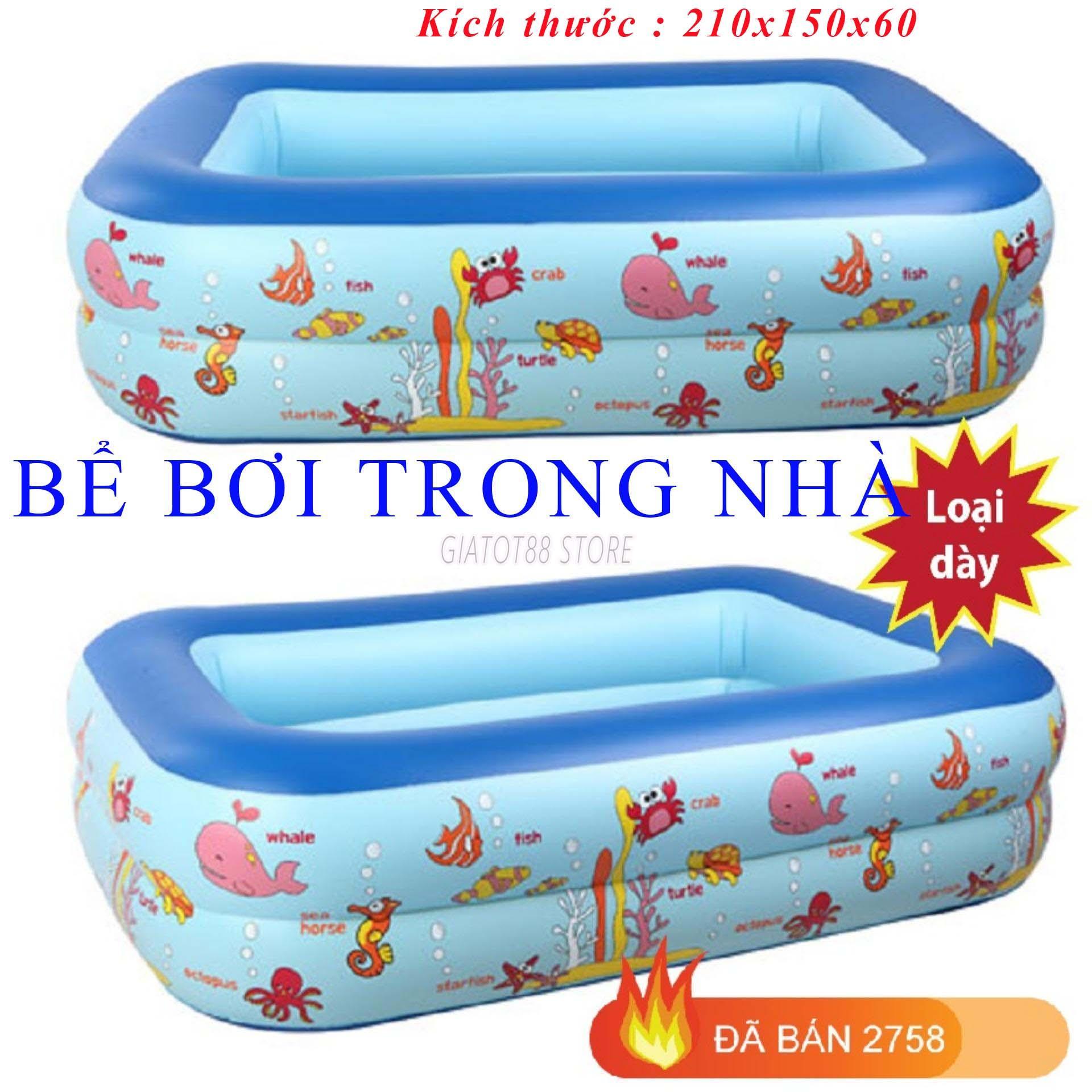 bể bơi mini tại nhà