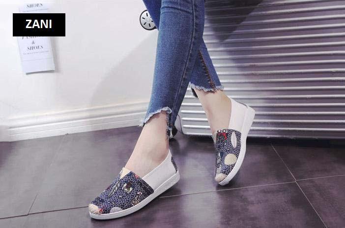 Giày lười vải nữ thoáng khí Zani ZW2231 7.jpg