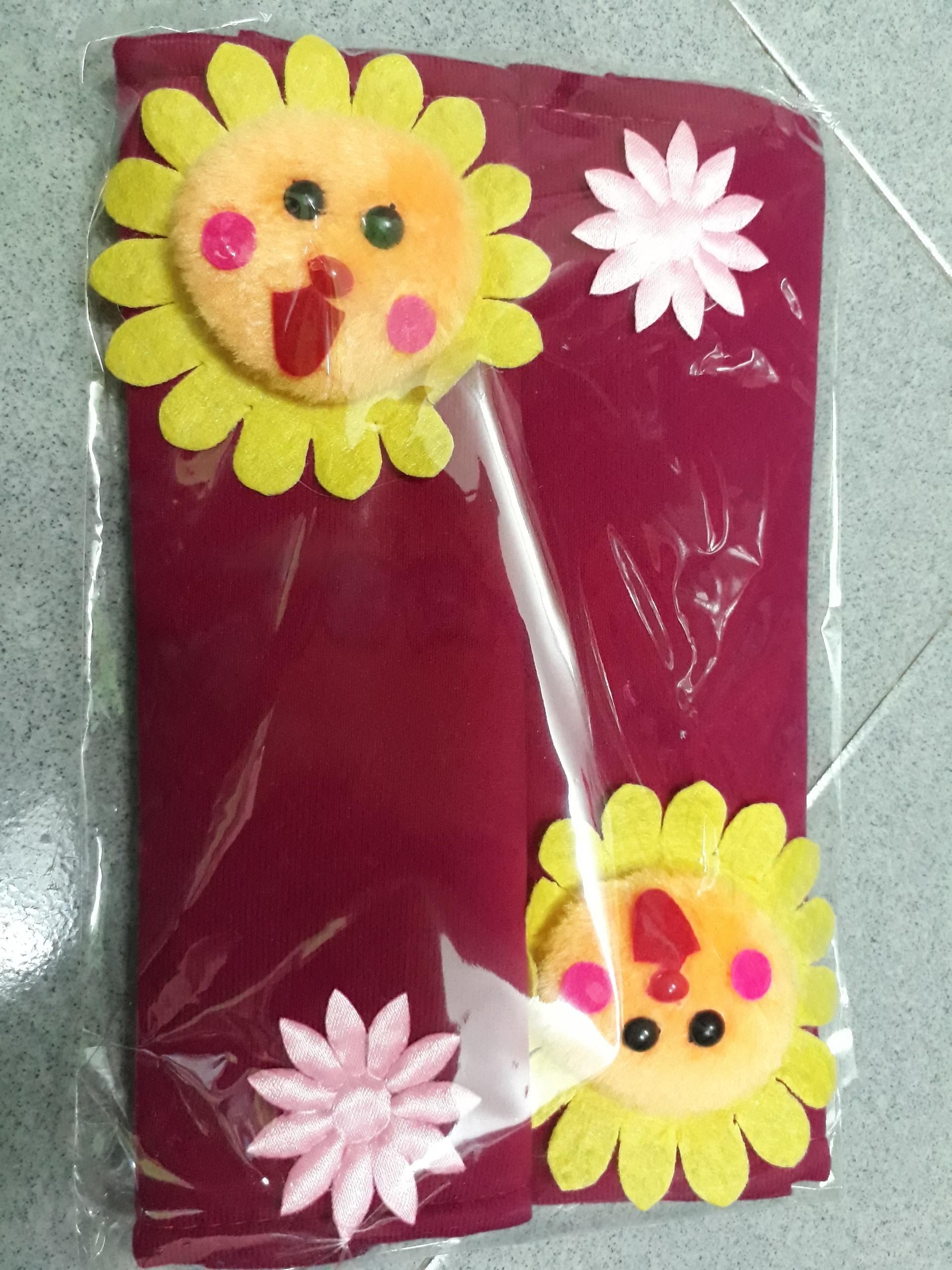 Tay nắm tủ lạnh hình thú, hoa và trái cây