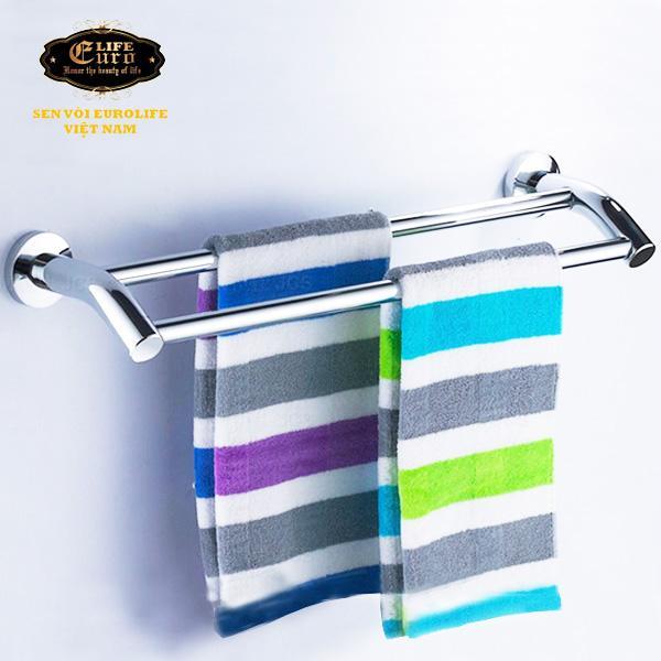 Máng treo khăn đôi cong Inox Eurolife EL-B2.jpg