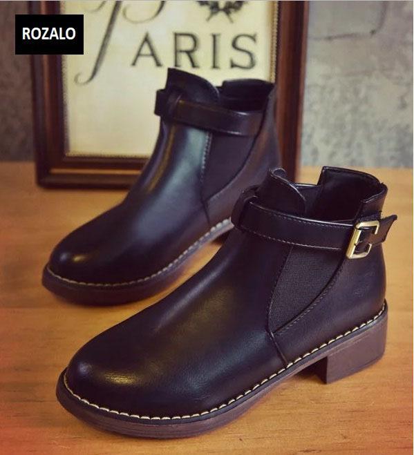 Giày chelsea boots nữ có đai Rozalo RW3758B-Đen1.jpg