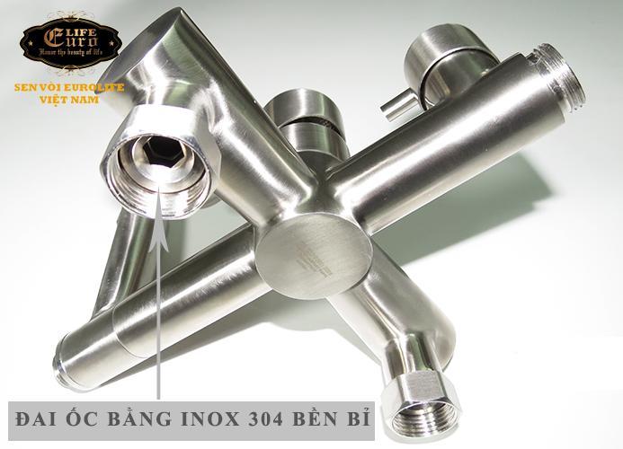 Bộ sen tắm đứng nóng lạnh Inox SUS 304 Eurolife EL-S917 (Trắng vàng)-9.jpg