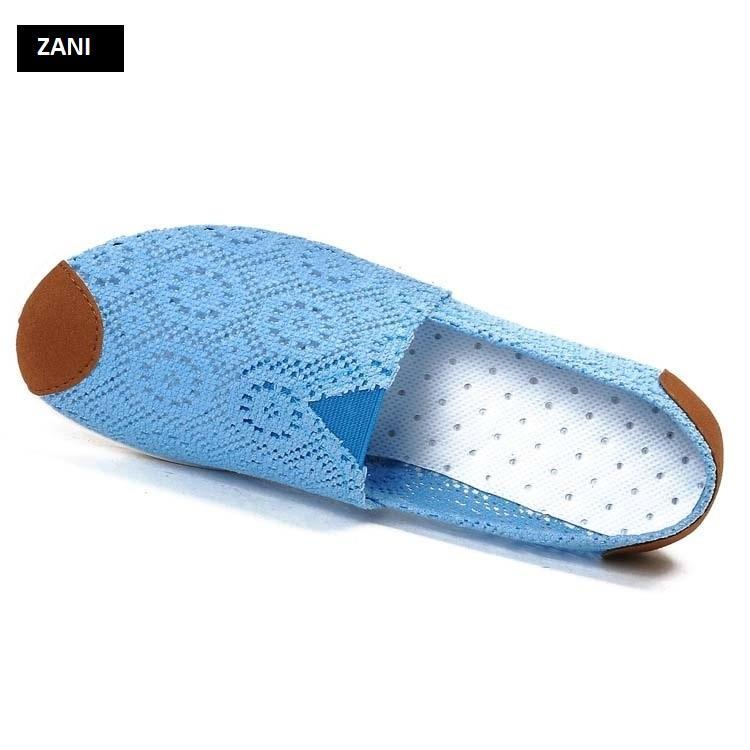 Giày lười vải lưới khử mùi ZANI ZN4119