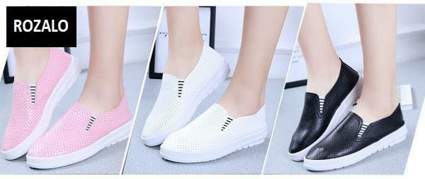 Giày lười nữ ROZALO RWG61512PW - Hồng 3.jpg