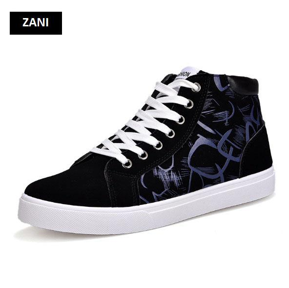 Giày cổ cao thời trang nam Rozalo RM6509B-Đen12.jpg
