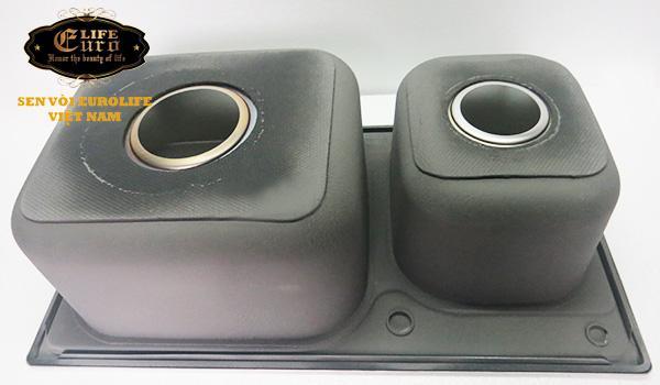 Chậu rửa chén Inox 2 hộc  Eurolife EL-C5-14.jpg