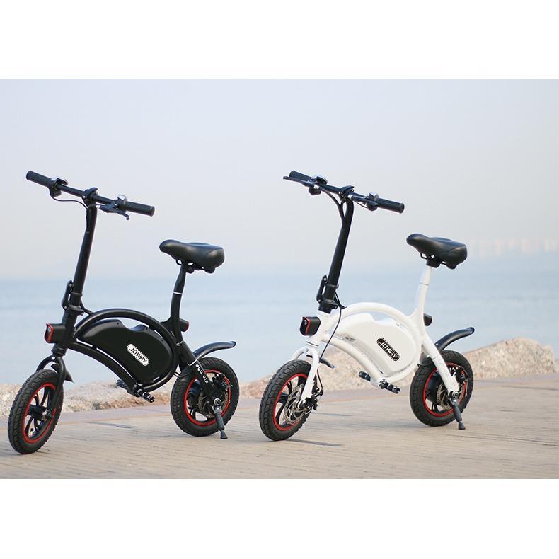 Xe đạp điện JOWAY ZLC01 nặng 12kg, dài 1m, gấp gọn dễ dàng