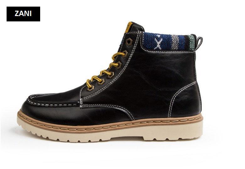 Giày nam cổ cao dã ngoại chống thấm đế bằng Rozalo RM58819B-Đen2.jpg