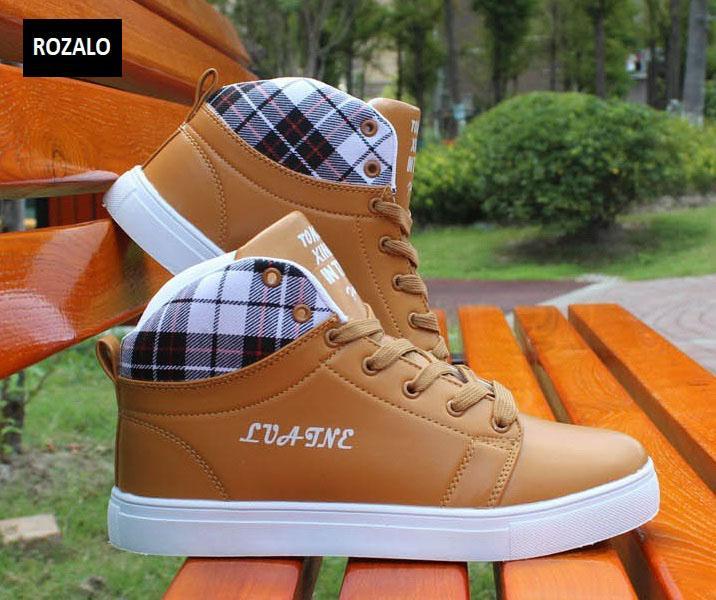 Giày cổ cao thời trang nam Rozalo RM5822N-Nâu3.jpg