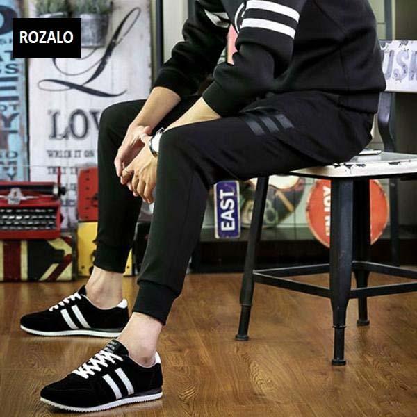 Giày casual thể thao nam Rozalo RMG3602BW-Đen Trắng3.jpg