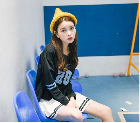 Váy Ngắn Xếp Ly Lưng Cao Hàn Quốc-BT Fashion VA025(Phối Viền-Hồng) - Ảnh 12