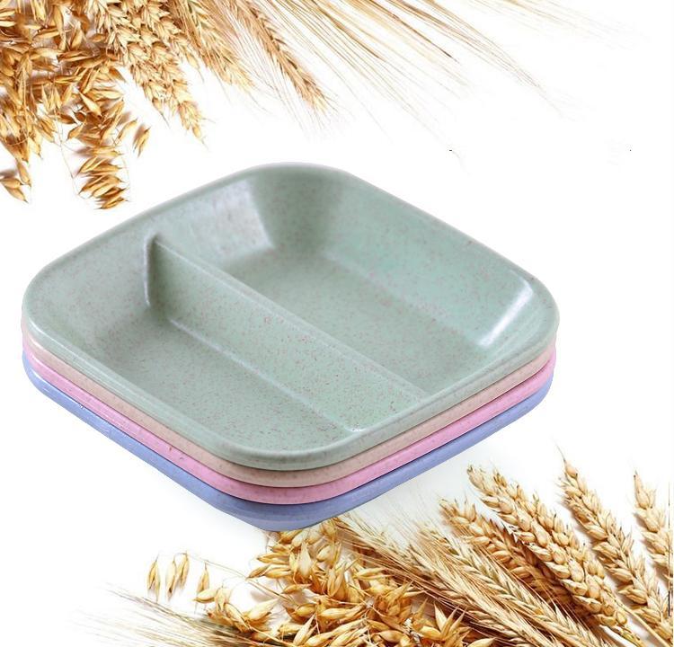 Đĩa đựng gia vị bằng lúa mạch