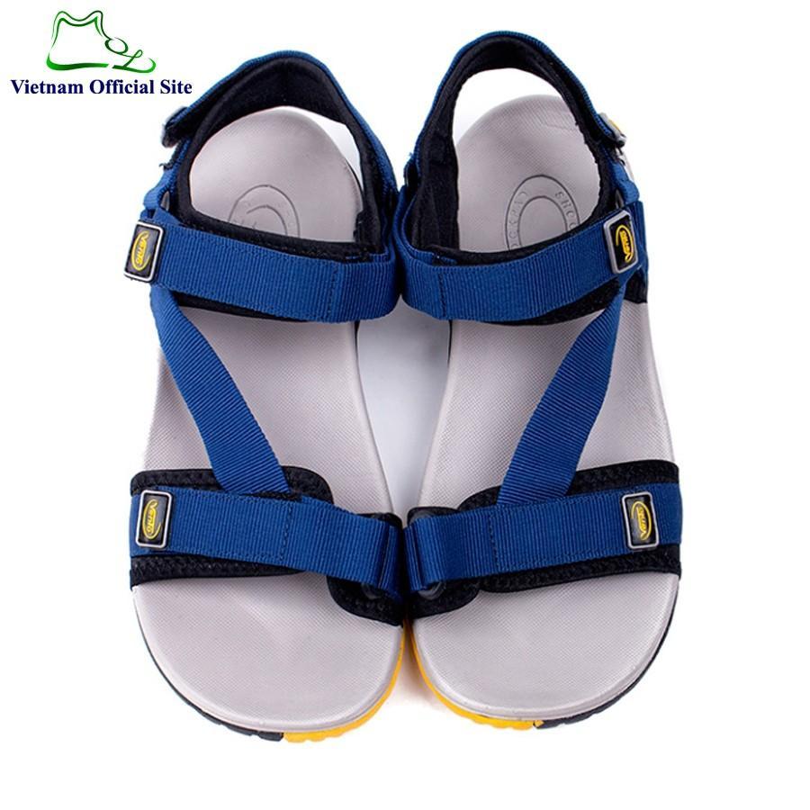 Giày sandal quai ngang dây chéo kiểu nam hiệu Vento NV4538Ch