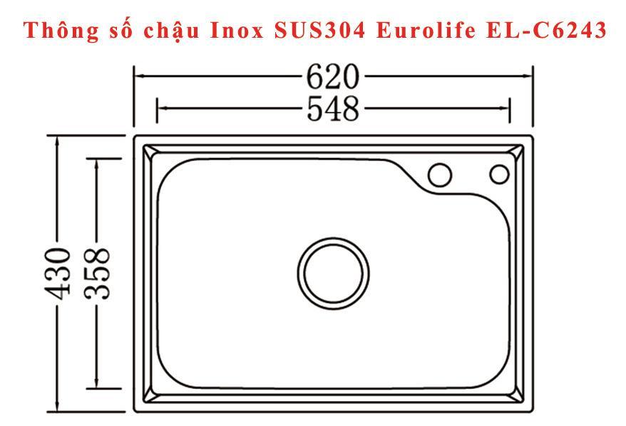 Chậu-Inox-SUS304-1-hố-Eurolife-EL-C6243-(Trắng-bạc)-1.jpg