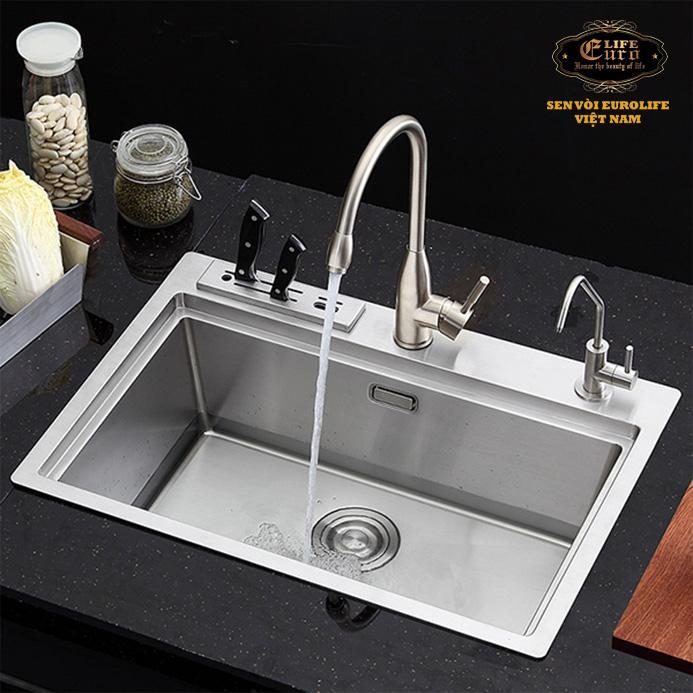 Vòi rửa chén nóng lạnh Inox SUS 304 Eurolife EL-T004-11.jpg
