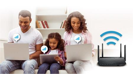 Thiết bị phát Wifi dành cho giải trí đa phương tiện ASUS RT-AC58U - Hãng phân phối chính thức 5.jpg