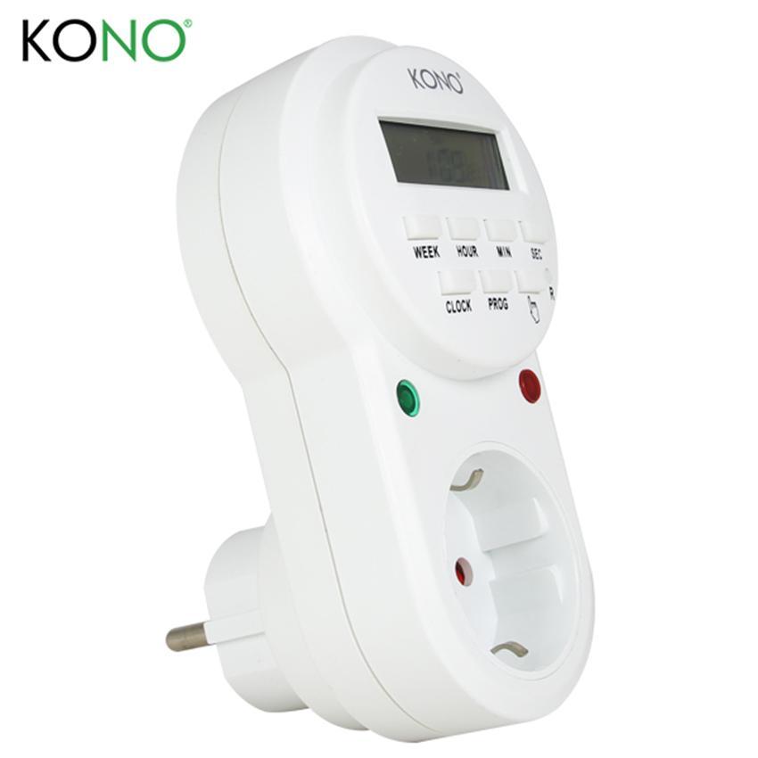Ổ cắm hẹn giờ tự động KONO ETG-63