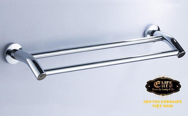 Máng treo khăn đôi cong Inox Eurolife EL-B2-10.jpg