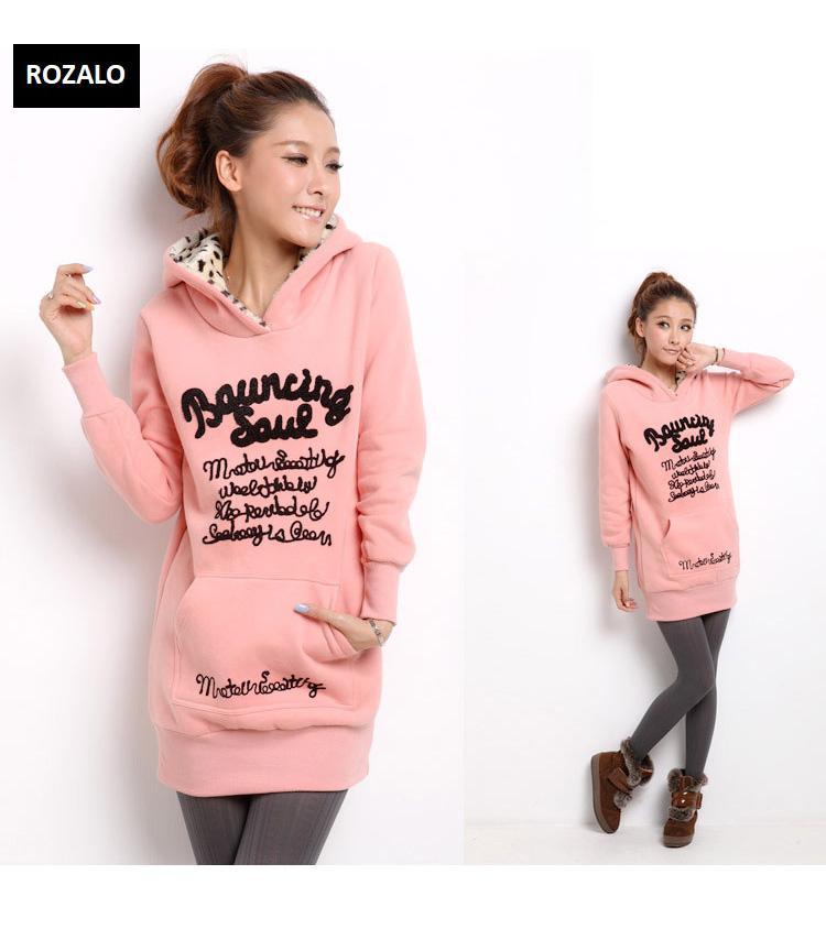 Áo khoác nữ hoodie thời trang Rozalo RW2961P-Hồng2.jpg