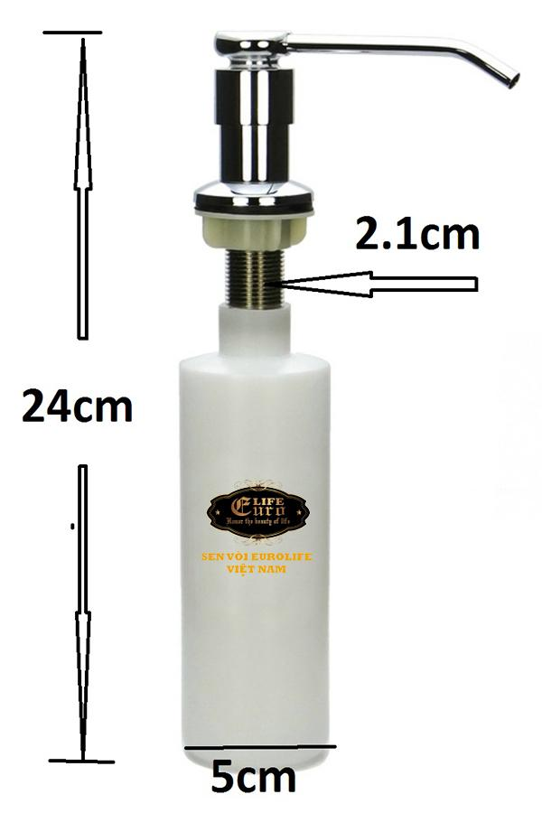 Bình đựng nước rửa chén gắn chậu Eurolife EL-C11-7.jpg