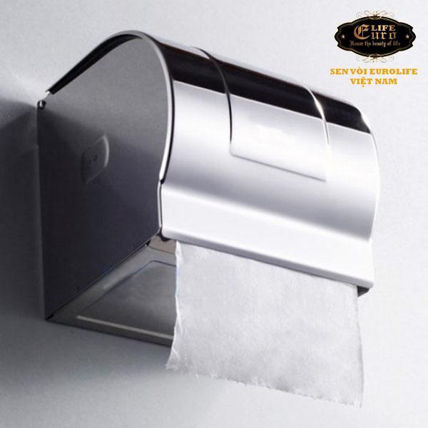 Hộp đựng giấy vệ sinh Inox SUS 304 Eurolife-1.jpg