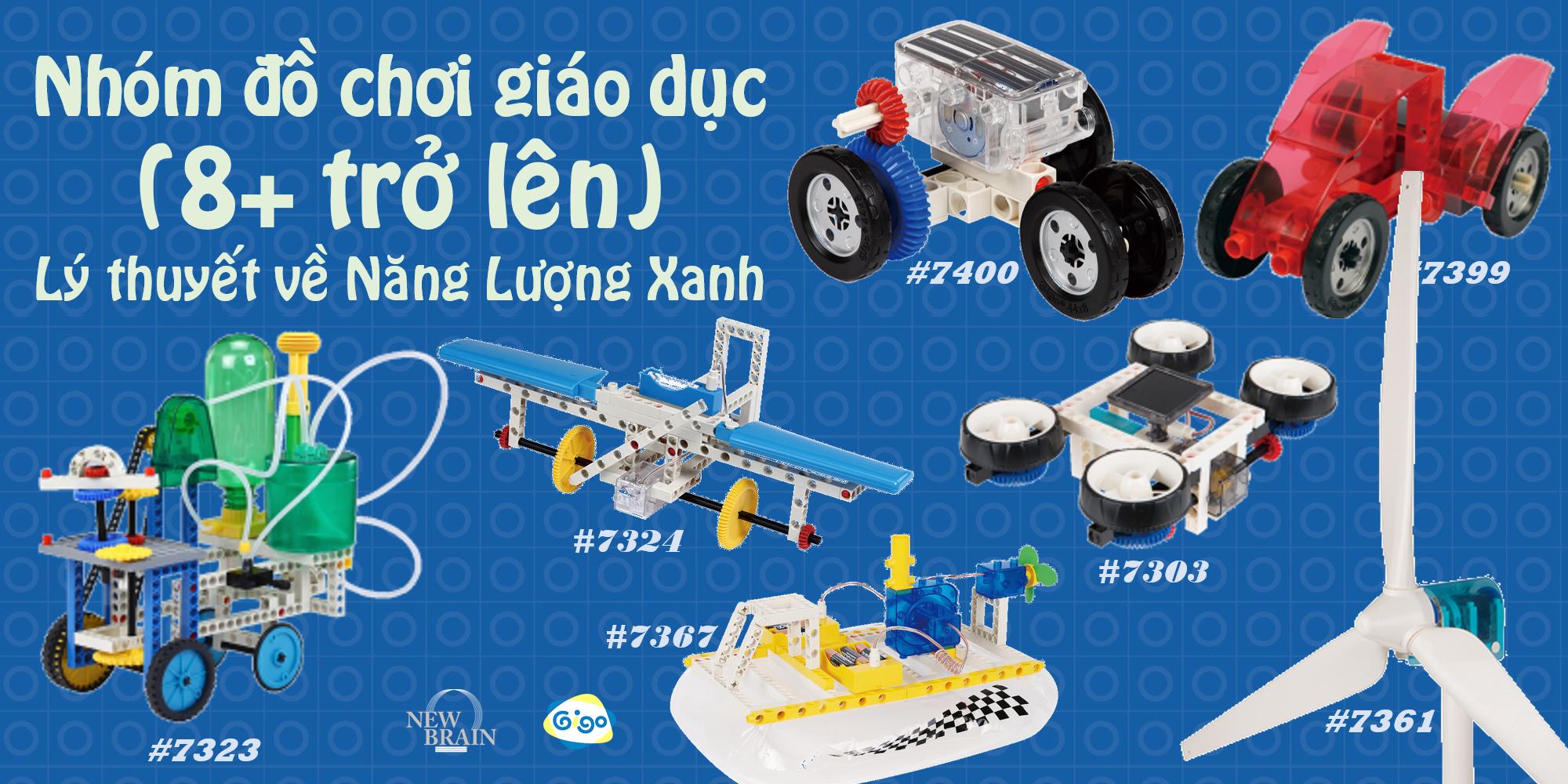 Đồ chơi giáo dục New Brain - Gigo Toys