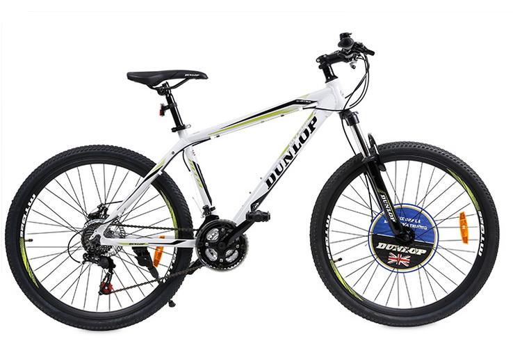 Xe đạp leo núi Dunlop CTB-DLP-143 124 x 20 x 78 cm (Trắng)