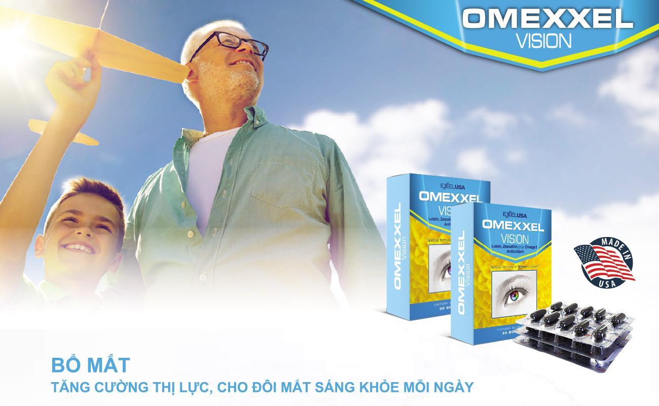 Viên uống bổ mắt Omexxel Vision