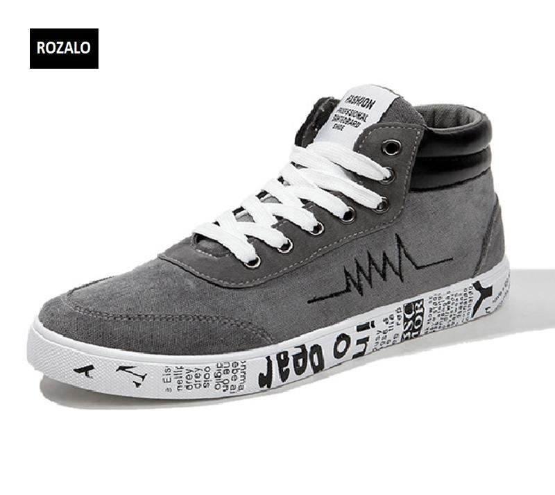 Giày vải casual nam cổ cao Rozalo RM55709 3.png