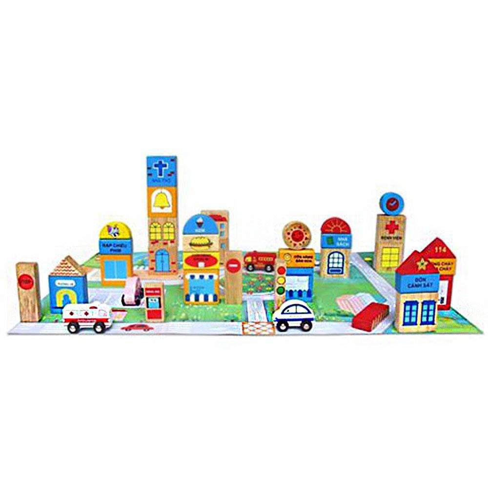 Thành phố tương lai Winwintoys 60522