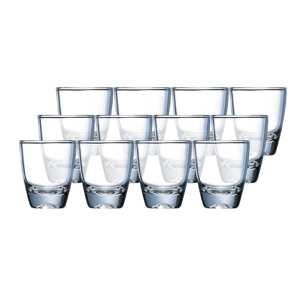 Bộ 12 Ly rượu TT Luminarc Gin Shot 30ml G2614 ( trong suốt)