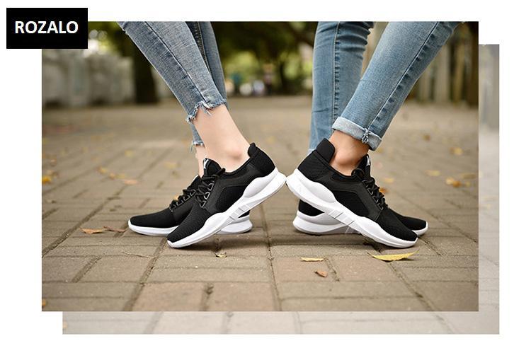 Giày đôi sneaker thời trang nam nữ Rozalo RZ8011BW- Đen1.jpg
