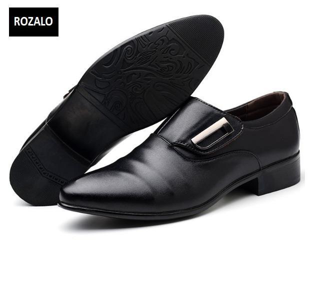 Giày tây nam công sở kiểu xỏ Rozalo RM62001B-Đen12.png