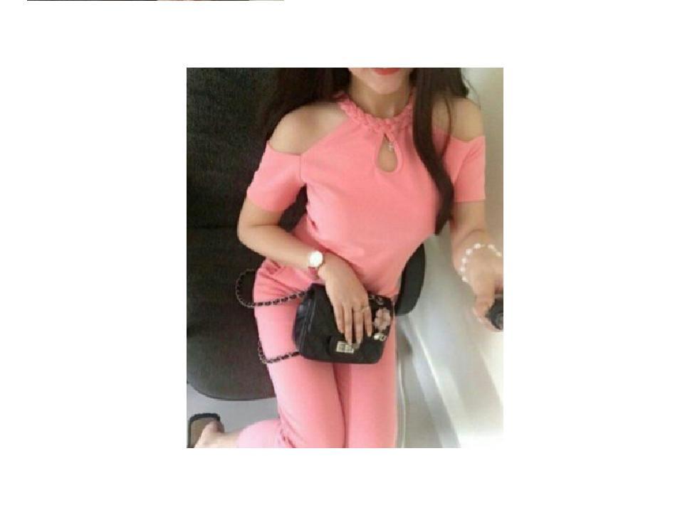 Set áo tay rớt cổ thắt bính phối quần dài SET014