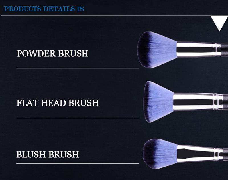 Bộ cọ trang điểm MSQ màu hồng 12 cây MSQ New Arrival 12Pcs Make up Brush (pink) 5