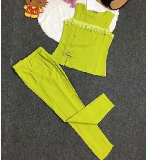 Set áo sát nách phối quần dài SET016