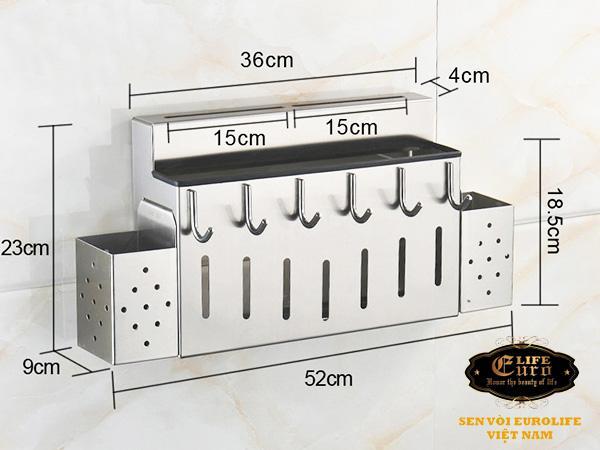 Kệ bếp đa năng Inox SUS 304 Eurolife EL-K5-4.jpg