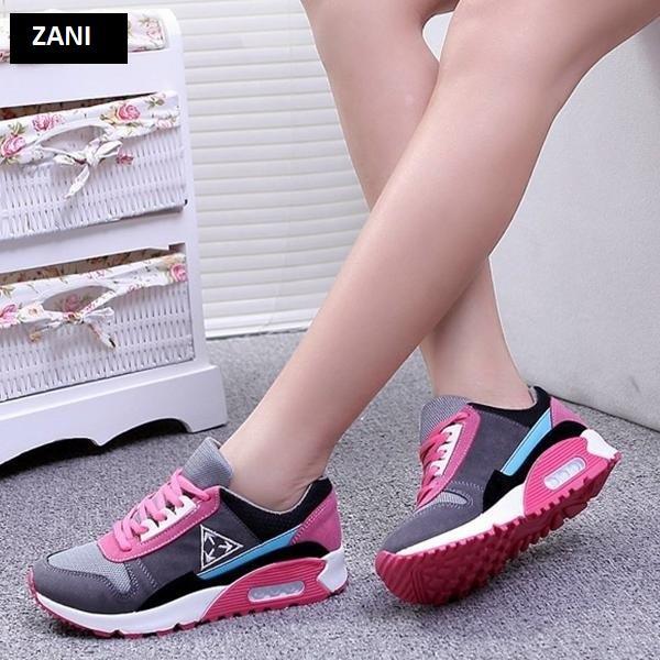 Giày sneaker thời trang thể thao nữ Zani ZN6815GP