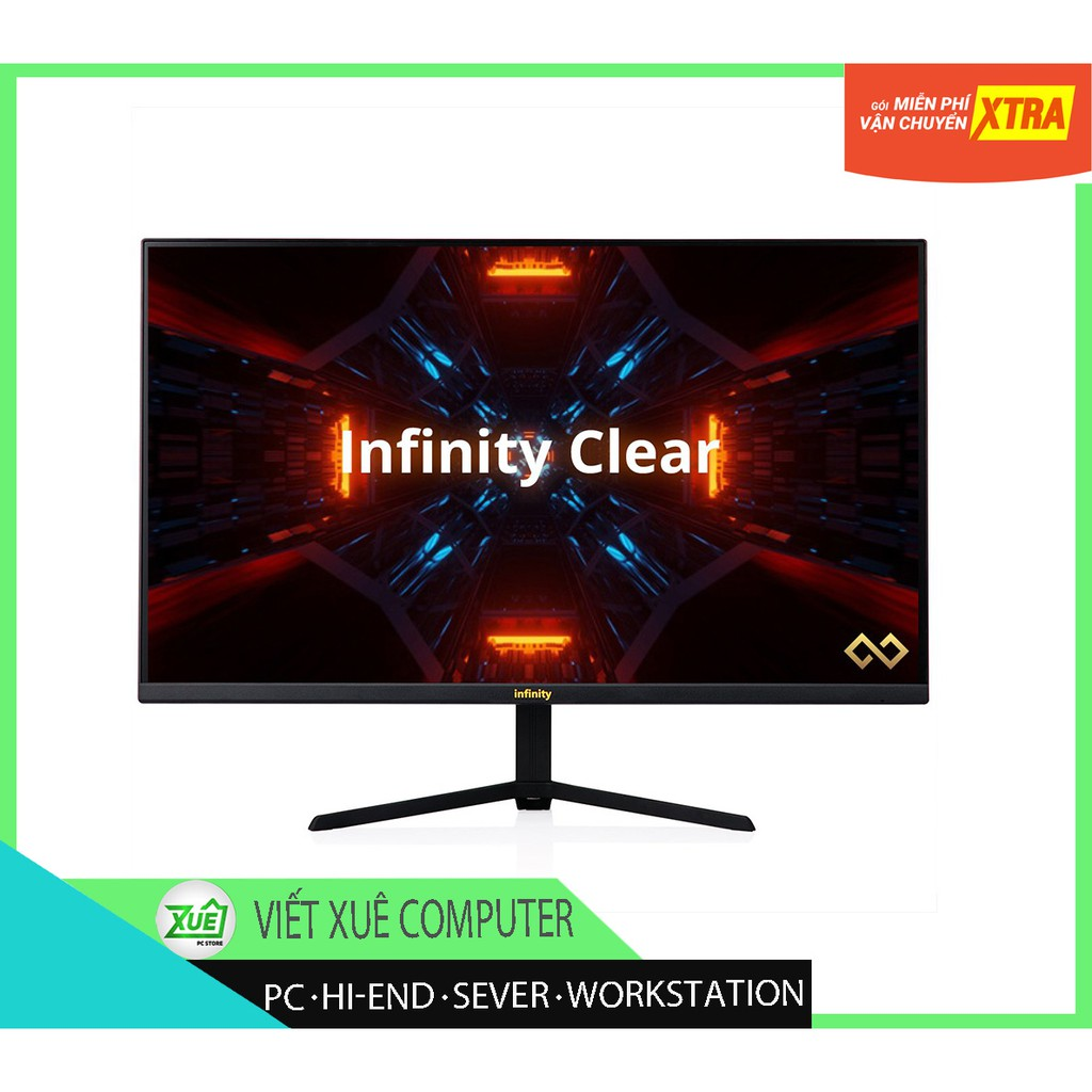 """GIá sốc ? Màn Hình Infinity Clear 24"""" IPS 165Hz FullHD 1ms? mua nhiều giá rẻ"""