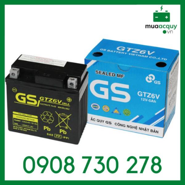 [HCM]Ắc quy GS GTZ6V