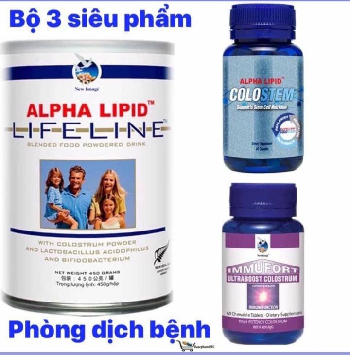 Sữa non Alpha Lipid