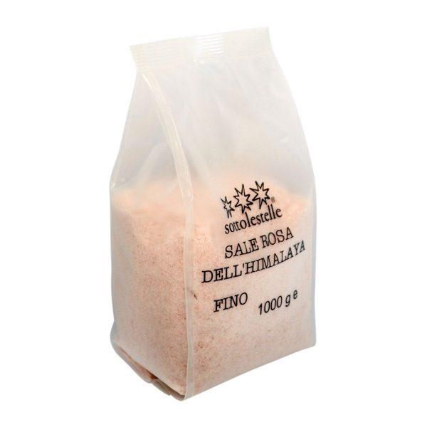 [HCM]Muối hồng Himalaya Sottolestelle 1kg ( Muối mịn) Himalaya Salt